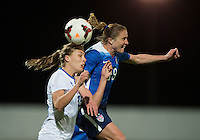 Lagos, Portugal - March 9, 2015: The USWNT tied Iceland 0-0 at their final group match at the Algarve Cup.