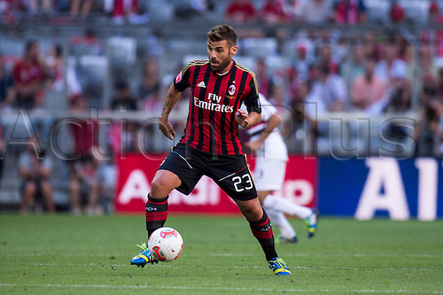 01.08.2013. Munich, Germany.  Antonio Nocerino (Milan) Audi Cup 2013 match between AC Milan 1-0 Sao Paulo FC at Allianz Arena in Munich, Germany.