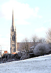 St. Marys Church, Drogheda in Snow...Photo NEWSFILE/Jenny Matthews.(Photo credit should read Jenny Matthews/NEWSFILE)....This Picture has been sent you under the condtions enclosed by:.Newsfile Ltd..The Studio,.Millmount Abbey,.Drogheda,.Co Meath..Ireland..Tel: +353(0)41-9871240.Fax: +353(0)41-9871260.GSM: +353(0)86-2500958.email: pictures@newsfile.ie.www.newsfile.ie.FTP: 193.120.102.198.