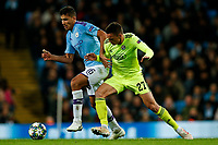 Rodri of Manchester City and Nikola Moro of Dinamo Zagreb during the UEFA Champions League Group C match between Manchester City and Dinamo Zagreb at the Etihad Stadium on October 1st 2019 in Manchester, England. (Photo by Daniel Chesterton/phcimages.com)<br /> Foto PHC/Insidefoto <br /> ITALY ONLY
