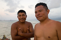 Local guides, Comarca De Kuna Yala, San Blas Islands, Panama