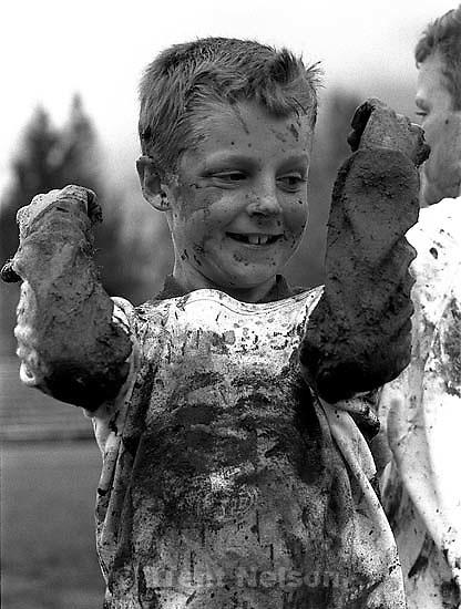 Muddy kid, december 1987.   &amp;#xA;<br />