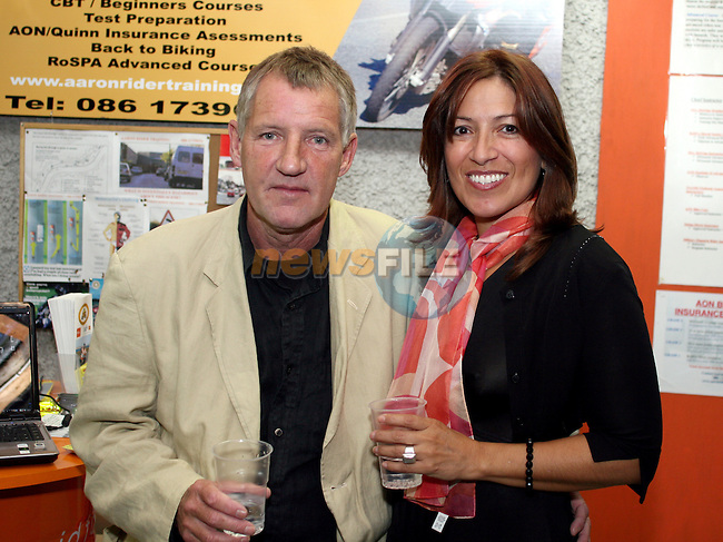 Ed Gordon and Irma Rojas at Kennedys 60th Anniversary...Photo NEWSFILE/Jenny Matthews.(Photo credit should read Jenny Matthews/NEWSFILE)....This Picture has been sent you under the condtions enclosed by:.Newsfile Ltd..The Studio,.Millmount Abbey,.Drogheda,.Co Meath..Ireland..Tel: +353(0)41-9871240.Fax: +353(0)41-9871260.GSM: +353(0)86-2500958.email: pictures@newsfile.ie.www.newsfile.ie.FTP: 193.120.102.198.