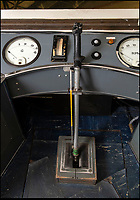 BNPS.co.uk (01202 558833)<br /> Pic: PhilYeomans/BNPS<br /> <br /> The control room operator could pull back on this lever to simulate the effects of aerial combat in the capsule.<br /> <br /> Sci-fi 'Centrifuge' to open its doors to the public after 64 years...<br /> <br /> A remarkable Cold War relic which has put thousands of pilots through their G-force paces has made its final spin after six decades. <br /> <br /> The Top Secret building at the former RAE Farnborough test site is now open to the public for guided tours led by the scientists from FAST who used to work there.<br /> <br /> The Farnborough Centrifuge was used to simulate huge 9G forces - nine times more than a human body is designed to absorb - they would encounter while flying fast jets during combat operations.<br /> <br /> The pilot would sit in a small compartment replicating a cockpit at the end of the 60ft rotating arm and be propelled at over 60mph, spinning 30 times a minute.<br /> <br /> A staggering 122,133 tests were performed on it before it was decommissioned in March this year, with a new centrifuge installed at RAF Cranwell.<br /> <br /> It featured on an episode of Top Gear in 2000 when Jeremy Clarkson had a go on it at 3G, leaving him in obvious discomfort. He described the force exerted on him as like 'having an elephant sat on my chest'.<br /> <br /> The centrifuge, which is being displayed for the public for the first time, also appeared in the 1985 comedy film Spies Like Us starring Chevy Chase and Dan Ackroyd.