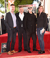 HOLLYWOOD, CALIFORNIA - DECEMBER 4: (2nd from L-R) Chief Content Officer for Netflix Ted Sarandos, Ryan Murphy and VP of Content Acquisition for Netflix Cindy Holland attend a ceremony honoring Ryan Murphy with a star on The Hollywood Walk of Fame on December 4, 2018 in Hollywood, California. (Photo by Frank Micelotta/Fox/PictureGroup)