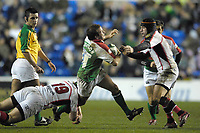 Reading, GREAT BRITAIN, Paul HODGSON, during the third round Heineken Cup game, London Irish vs Ulster Rugby, at the Madejski Stadium, Reading ENGLAND, Sa, t 09.12.2006. [Photo Peter Spurrier/Intersport Images]..