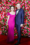 NEW YORK, NY - JUNE 10:  Kyle Jarrow and Laura Worsham attend the 72nd Annual Tony Awards at Radio City Music Hall on June 10, 2018 in New York City.  (Photo by Walter McBride/WireImage)