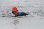 Ciaran Farrelly finishes first at the Green Buoy 1KM Swim in Clogherhead....(Photo credit should read Jenny Matthews/NEWSFILE)...