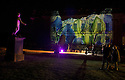 04/10/14 <br /> <br /> Luminaire returns to Chatsworth Hose. <br /> <br /> In the garden an illuminated trail leads the way, inspired by the drawings of Inigo Jones. Moments from the Masque of Oberon, The Fairy Prince, feature along the trail, with lighting, projections and music.<br /> <br /> A selection of drawings from the Masque, illustrated by Inigo Jones (1611) and other colourful drawings by Inigo Jones will be displayed in the Great Chamber. Not seen in over 40 years, these drawings along with music bring the Baroque house to life.<br /> <br /> Luminaire in the house and garden is open each evening until October 7th.<br /> <br /> All Rights Reserved - F Stop Press.  www.fstoppress.com. Tel: +44 (0)1335 300098