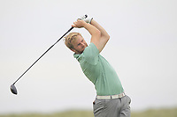 Stephen Walsh (Portmarnock) on the 9th tee during Round 1 of The East of Ireland Amateur Open Championship in Co. Louth Golf Club, Baltray on Saturday 1st June 2019.<br /> <br /> Picture:  Thos Caffrey / www.golffile.ie<br /> <br /> All photos usage must carry mandatory copyright credit (© Golffile | Thos Caffrey)