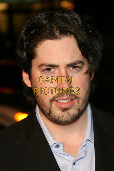 """JASON REITMAN.""""Thank You For Smoking"""" Premiere - Arrivals held at the Directors Guild of America, Los Angeles, California , USA..Macrh 16th, 2006.Photo: Zach Lipp/AdMedia/Capital Pictures.Ref: ZL/ADM.headshot portrait beard facial hair.www.capitalpictures.com.sales@capitalpictures.com.© Capital Pictures."""