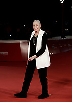 L'attrice britannica Vanessa Redgrave posa sul red carpet della Festa del Cinema di Roma, 2 novenbre 2017.<br /> British actress Vanessa Redgrave poses on the red carpet during the international Rome Film Festival at Rome's Auditorium, November 2, 2017.<br /> UPDATE IMAGES PRESS/Isabella Bonotto