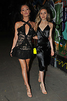 Roxy Horner and guest at the Fendi Reloaded capsule collection launch party, Lost Rivers, Leake Street, London, England, UK, on Thursday 12 April 2018.<br /> CAP/CAN<br /> &copy;CAN/Capital Pictures