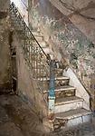 Havana, Cuba:<br /> Interior stairway detail