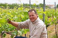 Gilles Robin owner dom g robin crozes hermitage rhone france