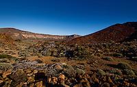 Shadows and rocks,Parque nacional de las Cañadas,Tenerife, Canary islands, Spain