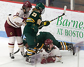 Erin Connolly (BC - 15), Alyssa Gorecki (UVM - 23), Mackenzie MacNeil (UVM - 10), Serena Sommerfield (BC - 3) -  The Boston College Eagles defeated the University of Vermont Catamounts 4-3 in double overtime in their Hockey East semi-final on Saturday, March 4, 2017, at Walter Brown Arena in Boston, Massachusetts.
