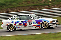 1992 British Touring Car Championship. #10 Tim Sugden (GBR). M Team Mobil. BMW 318is Coupe.