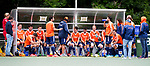 DEN HAAG - Selectie Oranje  tijdens de trainingswedstrijd Nederland-Argentinie (1-2). Volgende week speelt de HWL in Londen. COPYRIGHT KOEN SUYK