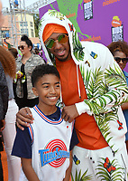 Miles Brown &amp; Nick Cannon at Nickelodeon's Kids' Choice Sports 2017 at UCLA's Pauley Pavilion. Los Angeles, USA 13 July  2017<br /> Picture: Paul Smith/Featureflash/SilverHub 0208 004 5359 sales@silverhubmedia.com