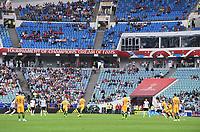 FUSSBALL FIFA Confed Cup 2017 VORRUNDE IN SOTCHI   Australien - Deutschland                           19.06.2017 Im Fischt Olympiastadion Sotschi  ist noch ein bisschen Platz
