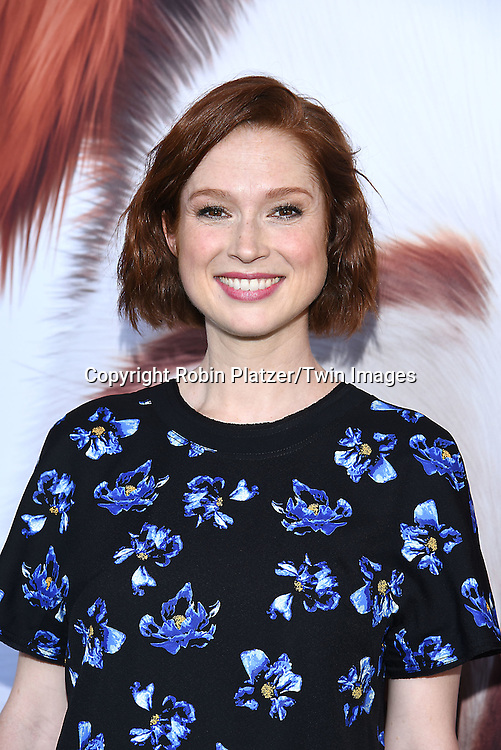 actress Ellie Kemper attends the New York Premiere of &quot;The Secret Life of Pets&quot; on June 25, 2016 at David H Koch Theater at Lincoln Center in New York, New York, USA. <br /> <br /> photo by Robin Platzer/Twin Images<br />  <br /> phone number 212-935-0770