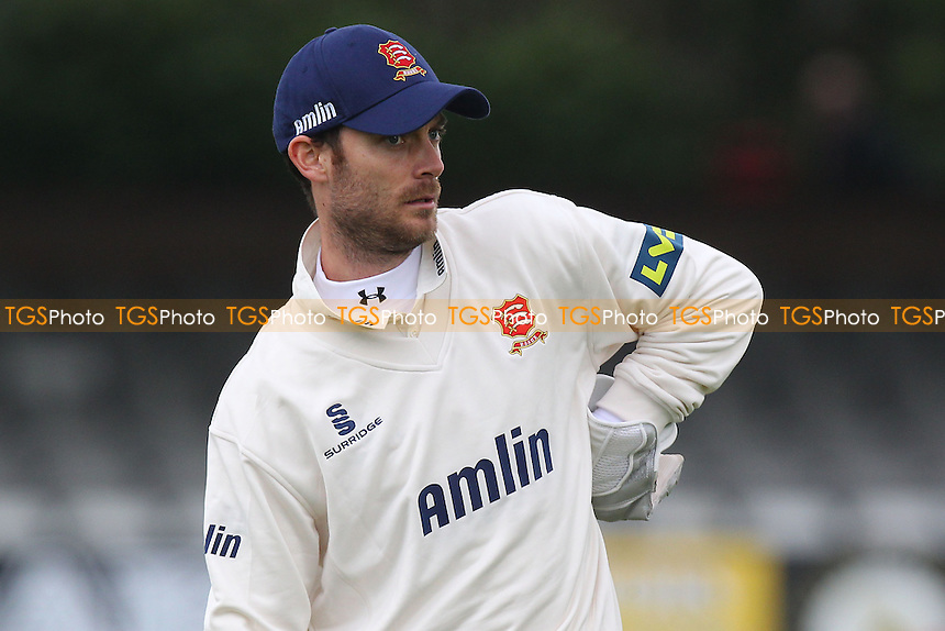 James Foster of Essex - Essex CCC vs Kent CCC - Pre-Season Friendly Cricket Match at the Essex County Ground, Chelmsford - 04/04/14 - MANDATORY CREDIT: Gavin Ellis/TGSPHOTO - Self billing applies where appropriate - 0845 094 6026 - contact@tgsphoto.co.uk - NO UNPAID USE