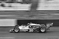 HAMPTON, GA - APRIL 22: Gordon Johncock drives his Penske PC6/Cosworth TC during the Gould Twin Dixie 125 event on April 22, 1979, at Atlanta International Raceway near Hampton, Georgia.