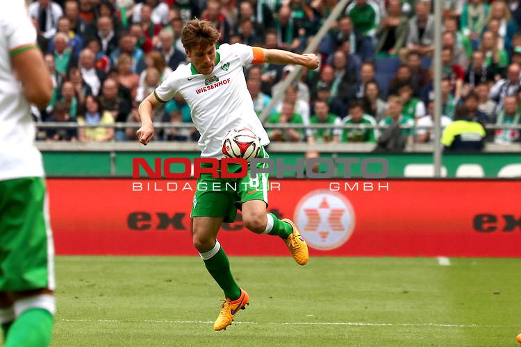 09.05.2015, HDI Arena, Hannover, GER, 1.FBL, Hannover 96 vs SV Werder Bremen im Bild <br /> <br /> Clemens Fritz (Bremen #8)<br /> <br /> Foto &copy; nordphoto / Rust