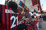 AC Milan shirts for sale bearing the name of Zlatan Ibrahimovic before the Serie A match at Giuseppe Meazza, Milan. Picture date: 6th January 2020. Picture credit should read: Jonathan Moscrop/Sportimage