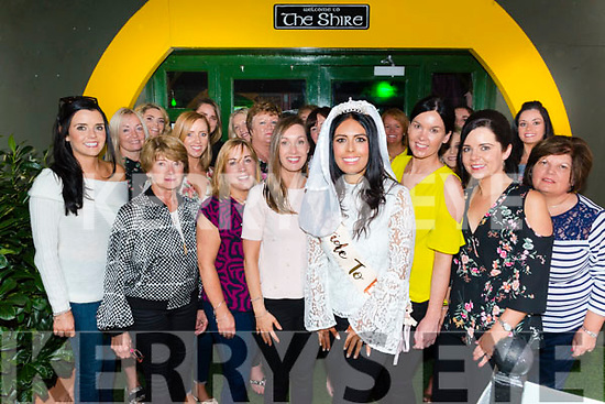 Danielle Favier from Glenflesk celebrated her hen party with friends and family in The Shire Bar, Killarney last Saturday before heading to Clonakilty for the night.