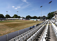 General view of the ground ahead of Essex Eagles vs Middlesex, Vitality Blast T20 Cricket at The Cloudfm County Ground on 6th July 2018