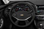 Car pictures of steering wheel view of a 2018 Chevrolet Impala 1LT 4 Door Sedan