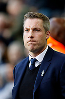 Neil Harris manager of Millwall seen during the Sky Bet Championship match between Millwall and Birmingham City at The Den, London, England on 21 October 2017. Photo by Carlton Myrie.