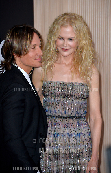 LOS ANGELES, CA. November 04, 2018: Nicole Kidman &amp; Keith Urban at the 22nd Annual Hollywood Film Awards at the Beverly Hilton Hotel.<br /> Picture: Paul Smith/Featureflash