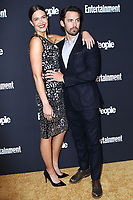 www.acepixs.com<br /> <br /> May 15 2017, New York City<br /> <br /> Mandy Moore and Milo Ventimiglia arriving at the Entertainment Weekly &amp; People New York Upfront on May 15, 2017 in New York City. <br /> <br /> By Line: Nancy Rivera/ACE Pictures<br /> <br /> <br /> ACE Pictures Inc<br /> Tel: 6467670430<br /> Email: info@acepixs.com<br /> www.acepixs.com