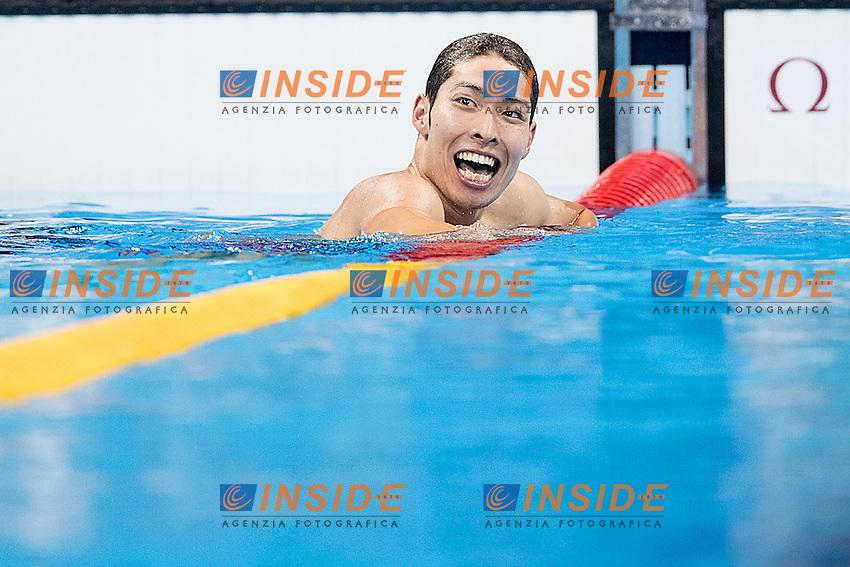 Hagino Kosuke JPN<br /> 400 Individual Medley men<br /> Rio de Janeiro 06-08-2016 XXXI Olympic Games <br /> Olympic Aquatics Stadium <br /> Swimming finals 06/08/2016<br /> Photo Giorgio Scala/Deepbluemedia/Insidefoto