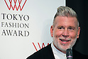 Menswear consultant and designer Nick Wooster speaks during the Tokyo Fashion Award in downtown Tokyo on October 16, 2015, Tokyo, Japan. The top 6 Tokyo fashion brands with potential to grow overseas will be selected and given the opportunity to set up a showroom during Paris fashion week in January 2016. (Photo by Rodrigo Reyes Marin/AFLO)