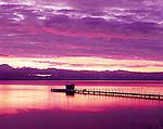 Sunrise at Lake Tahoe, California