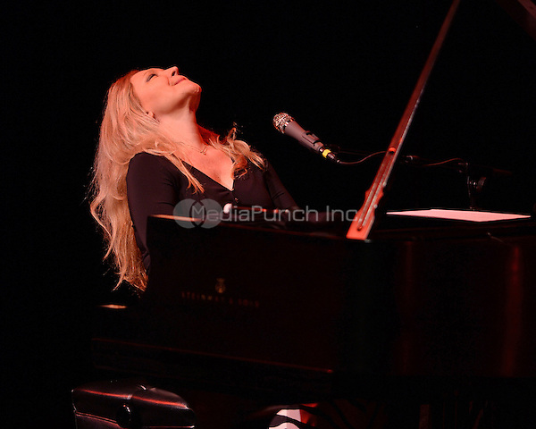 FORT LAUDERDALE FL - APRIL 24: Eliane Elias performs at The Broward Center on April 24, 2016 in Fort Lauderdale, Florida. Credit: mpi04/MediaPunch