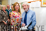 Retired Kerry-based inspector, Patrick F. O'Donovan, launches his book: Stanley's Letter, The National School System and Inspectors in Ireland 1831 - 1922 at Kerry County Library. Signing a book for Norrie O' Connell from Causway