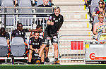 Stockholm 2014-05-24 Fotboll Superettan Hammarby IF - Varbergs BoIS FC  :  <br /> Varbergs tr&auml;nare J&ouml;rgen W&aring;lemark reagerar<br /> (Foto: Kenta J&ouml;nsson) Nyckelord:  Superettan Tele2 Arena HIF Bajen Varberg BoIS portr&auml;tt portrait