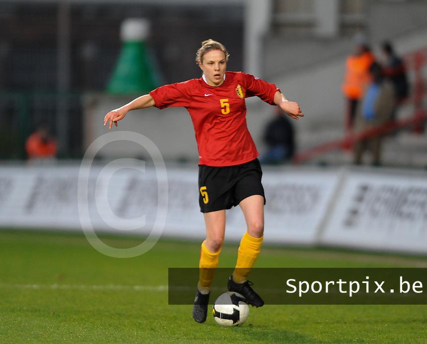 Belgium - Czech Republic : Lorca Van De Putte.foto DAVID CATRY / Vrouwenteam.be