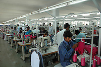 Srinidhi Industry's garment manufacuring Unit. Big garment manufacturing units run at Netaji Apparel Park in Tirupur, Tamilnadu. After lifting of quota system in textile export on 1st january 2005. Tirupur has become the biggest foreign currency earning town of India.
