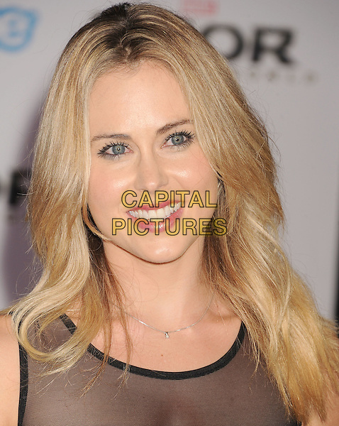 HOLLYWOOD, CA - NOVEMBER 04: Anna Hutchison at the Los Angeles Premiere 'Thor: The Dark World' at the El Capitan Theatre on November 4, 2013 in Hollywood, California, USA.<br /> CAP/ROT/TM<br /> &copy;Tony Michaels/Roth Stock/Capital Pictures