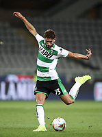 Calcio, Serie A: Torino - Sassuolo, Olympic stadium Grande Torino, August 25, 2019.<br /> Sassuolo's Manuel Locatelli in action during the Italian Serie A football match between Torino and Sassuolo at Olympic stadium Grande Torino, August 25, 2019.<br /> UPDATE IMAGES PRESS/Isabella Bonotto