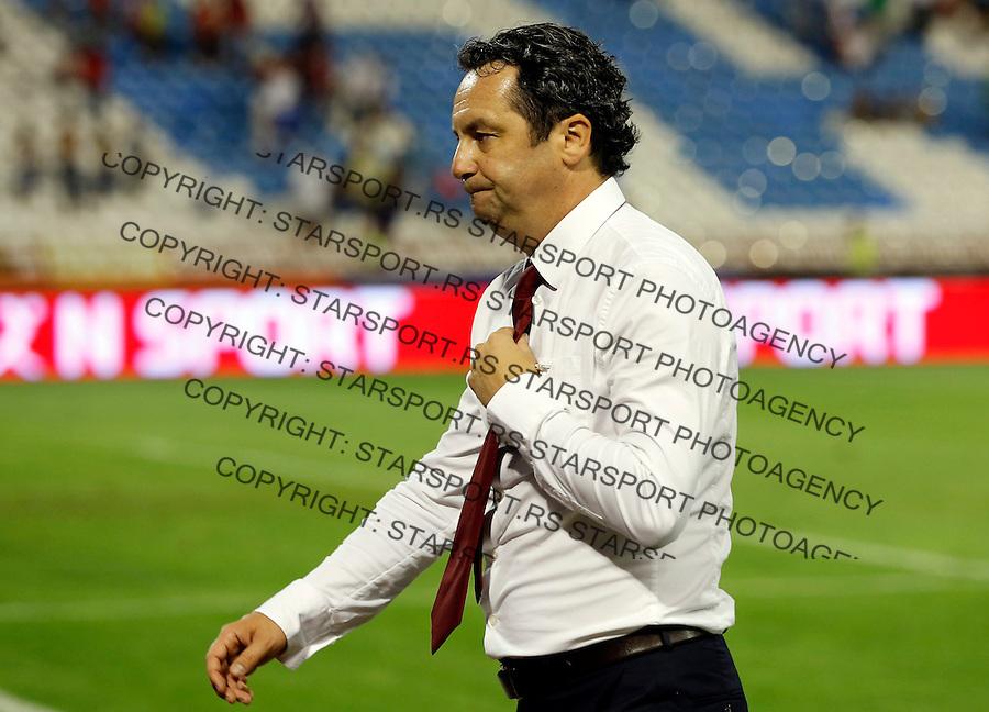 Fudbal Super liga season 2013-2014<br /> Crvena Zvezda v Jagodina<br /> Head coach Slavisa Stojanovic<br /> Beograd, 17.08.2013.<br /> foto: Srdjan Stevanovic/Starsportphoto &copy;