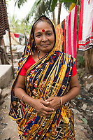 Jhorna Das, toilet cleaner, Khulna