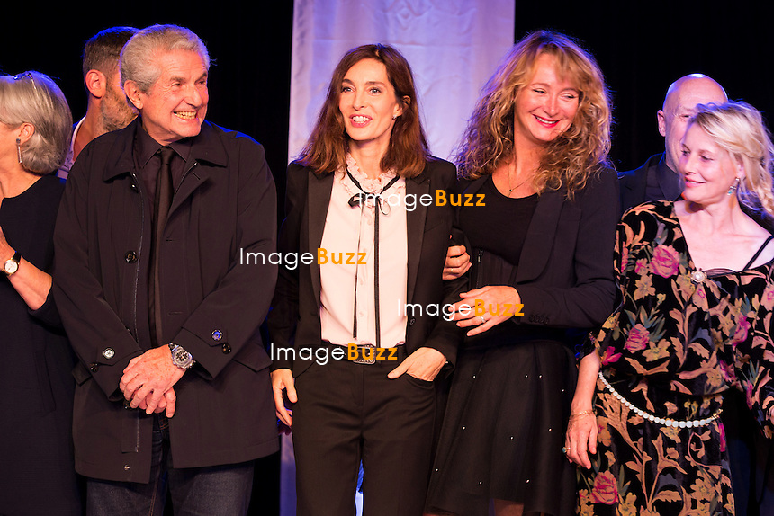 Claude Lelouch, Anne Parillaud, Julie Ferrier &amp; Florence Thomassin lors de la soir&eacute;e d'ouverture du 27&egrave;me Festival du film britannique de Dinard. <br /> France, Dinard, 29 septembre 2016.<br /> Opening night of 27th Edition of the Dinard British Film Festival.<br /> France, Dinard, 29 September 2016.