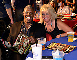 HOLLYWOOD, FL - SEPTEMBER 05: Leon Spinks and Brenda Spinks attends Saturday Fight Night World Heavyweight Champions Fight Night at Hard Rock Live! in the Seminole Hard Rock Hotel & Casino on September 5, 2015 in Hollywood, Florida. ( Photo by Johnny Louis / jlnphotography.com )